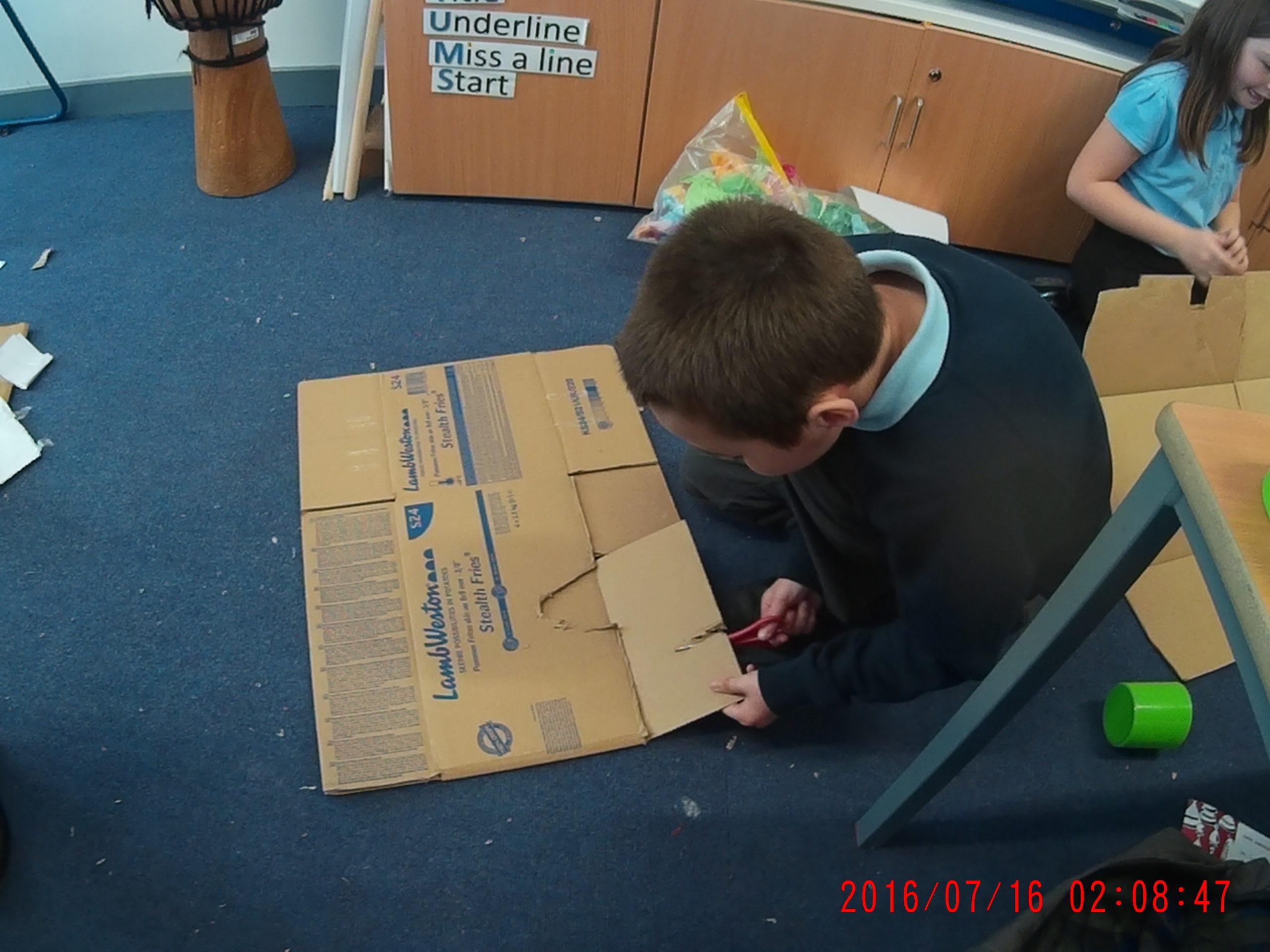 Cardboard Challenge Day 2