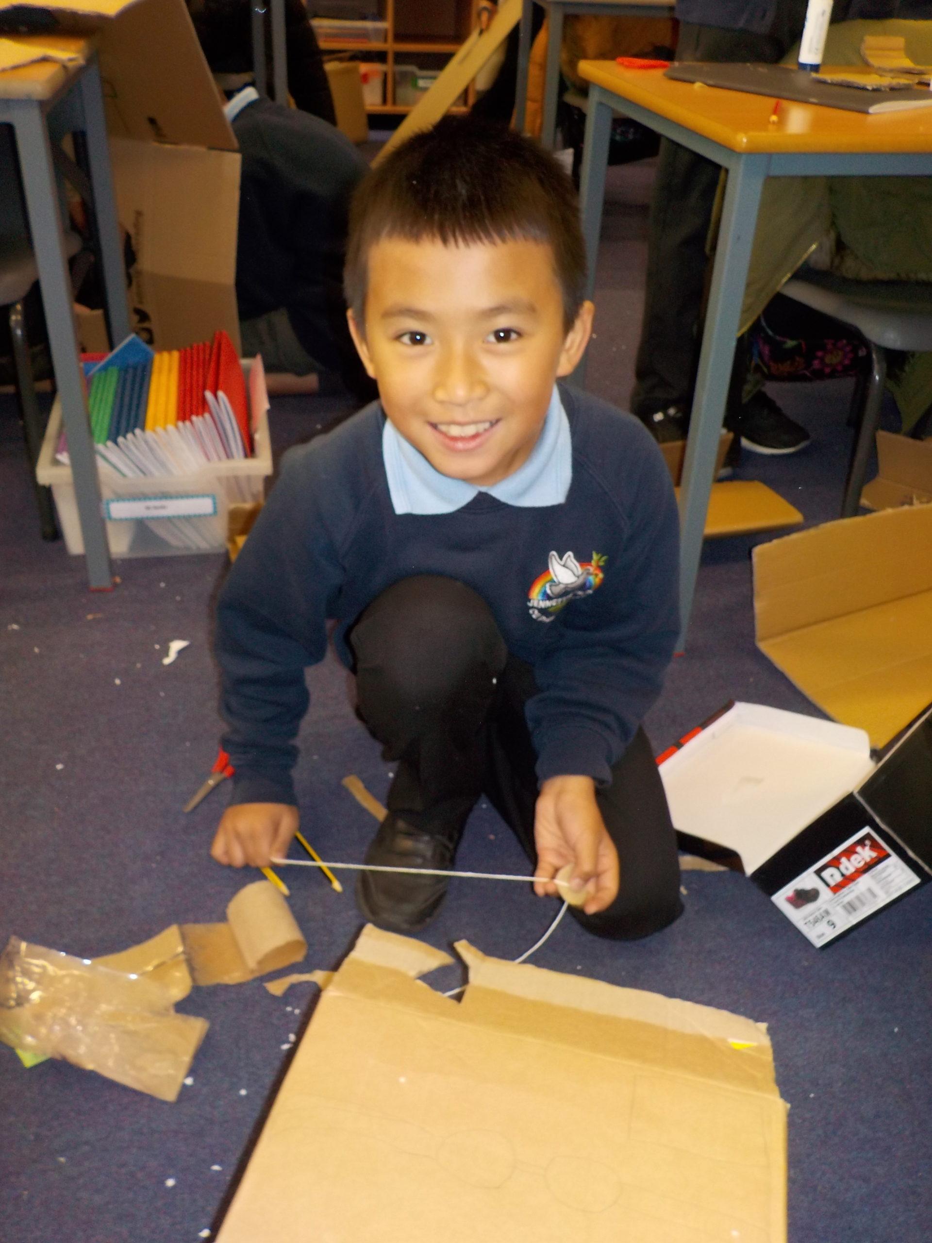 Cardboard Challenge Day 4