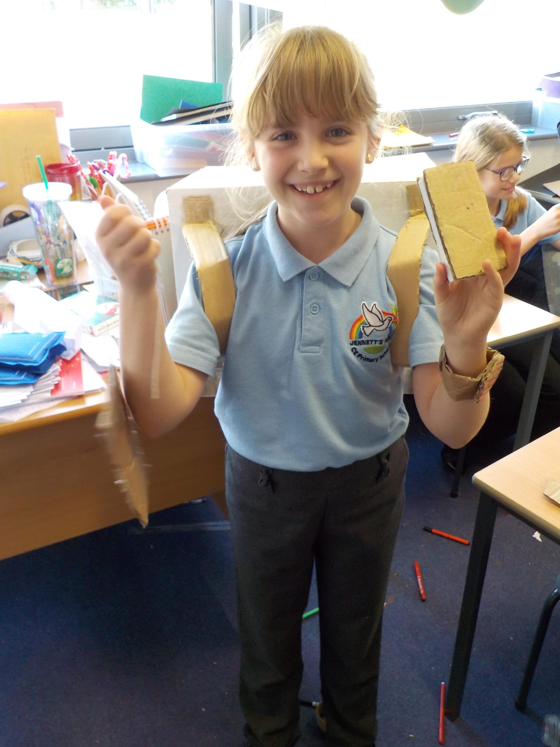 Cardboard Challenge Day 6