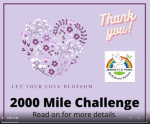2000 Mile Challenge Video