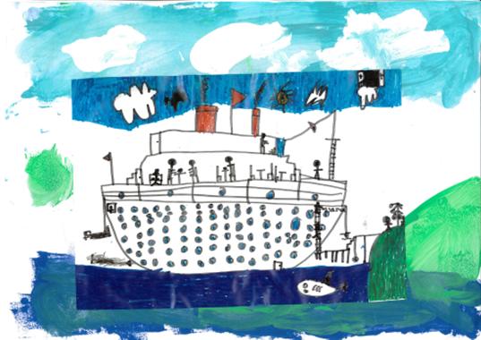 Black History Month ship artwork