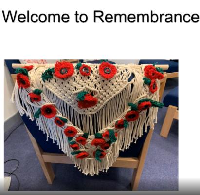 Remembrance Day Assembly 2020