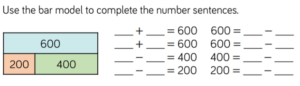Bar Model and Number Sequence Examples