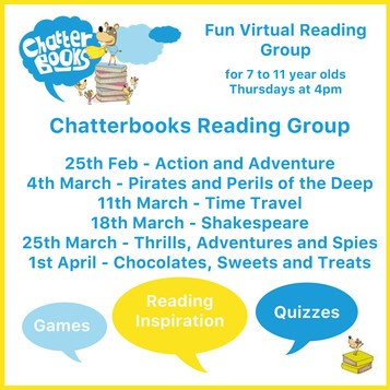 Chatterbooks reading group