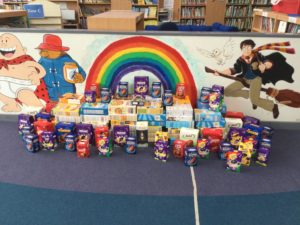 Easter Egg Donations Table