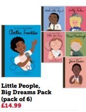 Little People Big Dreams Pack