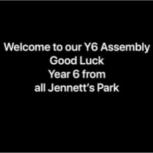 Y6 Leavers Video