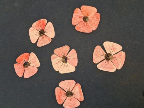 poppies artwork