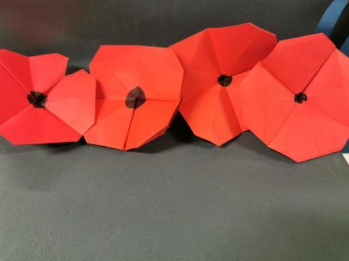 Poppy Origami